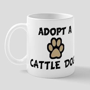 Adopt a CATTLE DOG Mug