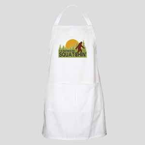 I'd Rather Be Squatchin Apron