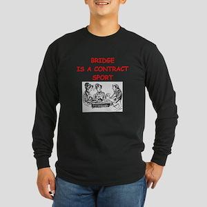 duplicate bridge Long Sleeve Dark T-Shirt