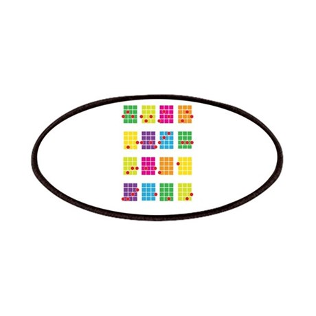 Uke Chords Colourful Patches