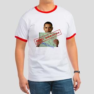 Obama 2012 D Ringer T