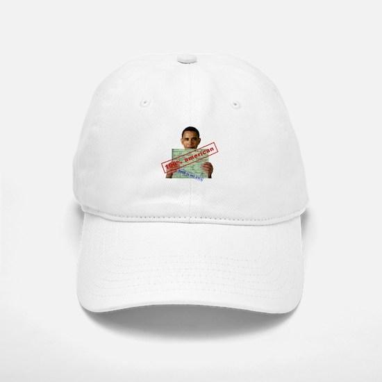 Obama 2012 D Baseball Baseball Cap