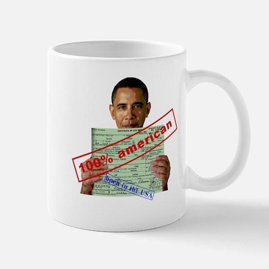 Obama 2012 D Mug
