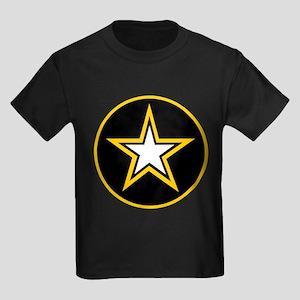 Army Star Circle Kids Dark T-Shirt