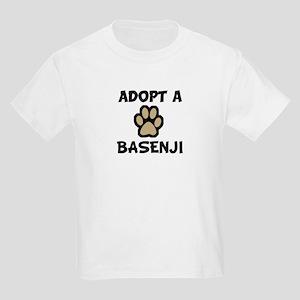 Adopt a BASENJI Kids T-Shirt