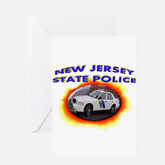New Jersey State Police Greeting Card
