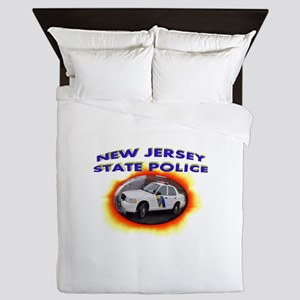 New Jersey State Police Queen Duvet