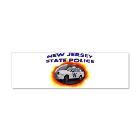 New Jersey State Police Car Magnet 10 x 3
