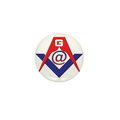 Web Savvy Masons Mini Button (10 pack)