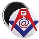 Web Savvy Masons Magnet