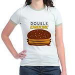 DoubleCHEESE! Jr. Ringer T-Shirt