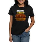 DoubleCHEESE! Women's Dark T-Shirt
