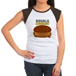 DoubleCHEESE! Women's Cap Sleeve T-Shirt