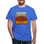 DoubleCHEESE! Dark T-Shirt
