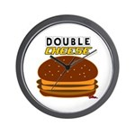 DoubleCHEESE! Wall Clock