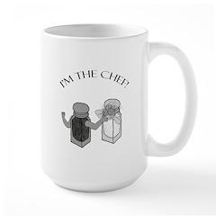 I'm The Chef Large Mug