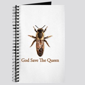 God Save the Queen (bee) Journal