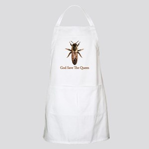 God Save the Queen (bee) Apron