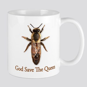 God Save the Queen (bee) Mug