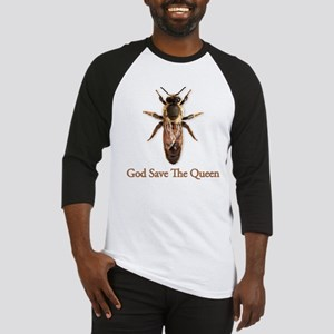 God Save the Queen (bee) Baseball Jersey