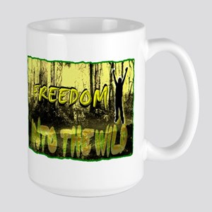 into the wild Large Mug