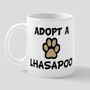 Adopt a LHASAPOO Mug