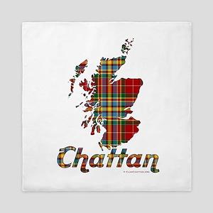 ClanChattan.org: Scotland Map Queen Duvet