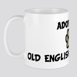 Adopt an OLD ENGLISH SHEEPDOG Mug