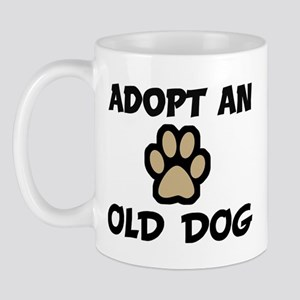 Adopt an OLD DOG Mug