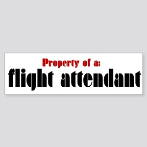Property of a Flight Attendant (Bumper)