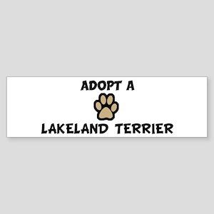 Adopt a LAKELAND TERRIER Bumper Sticker