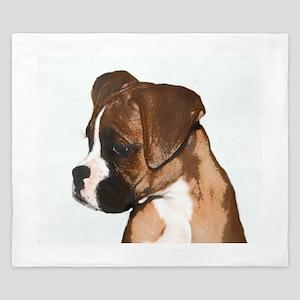 Boxer Dog King Duvet