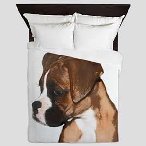 Boxer Dog Queen Duvet