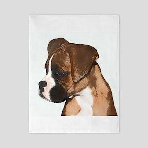 Boxer Dog Twin Duvet