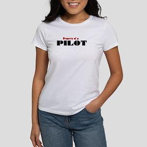 Property of a Pilot Women's T-Shirt