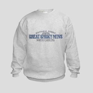 Great Smoky Mountains NC Kids Sweatshirt
