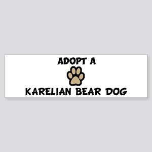 Adopt a KARELIAN BEAR DOG Bumper Sticker