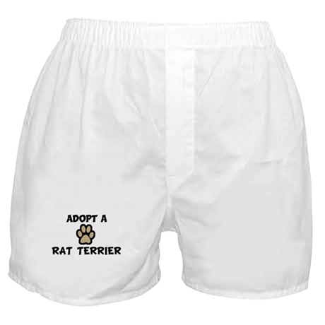 Adopt a RAT TERRIER Boxer Shorts