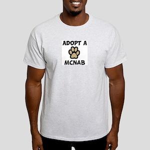 Adopt a MCNAB Ash Grey T-Shirt