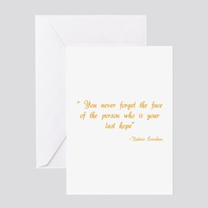 HG You never forget Greeting Card