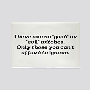 Good or evil witches Rectangle Magnet