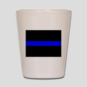 Thin Blue Line Shot Glass
