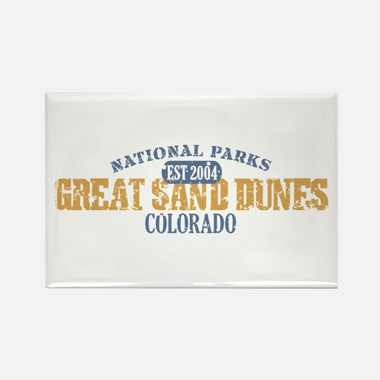Great Sand Dunes Colorado Rectangle Magnet