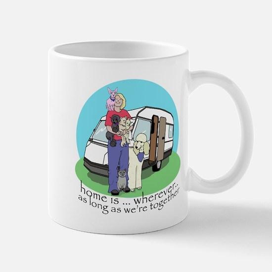 Caravan babes Mug