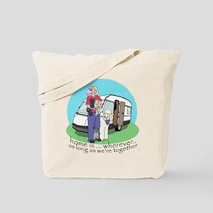 Caravan babes Tote Bag