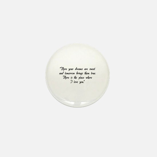 HG here your dreams are sweet .. Mini Button