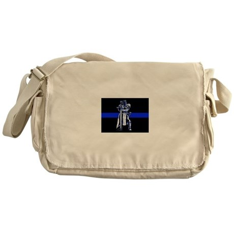 Freemason Templar Thin Blue L Messenger Bag