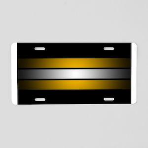 Boston Hockey Aluminum License Plate