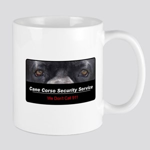 Cane Corso Security Service Mug