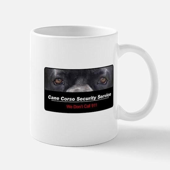Cane Corso Security Service Mug
